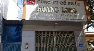 Cho thuê nhà 2 tầng mặt tiền đường Lý Tự Trọng